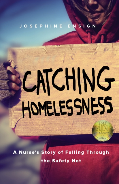Catching Homelessness w sticker