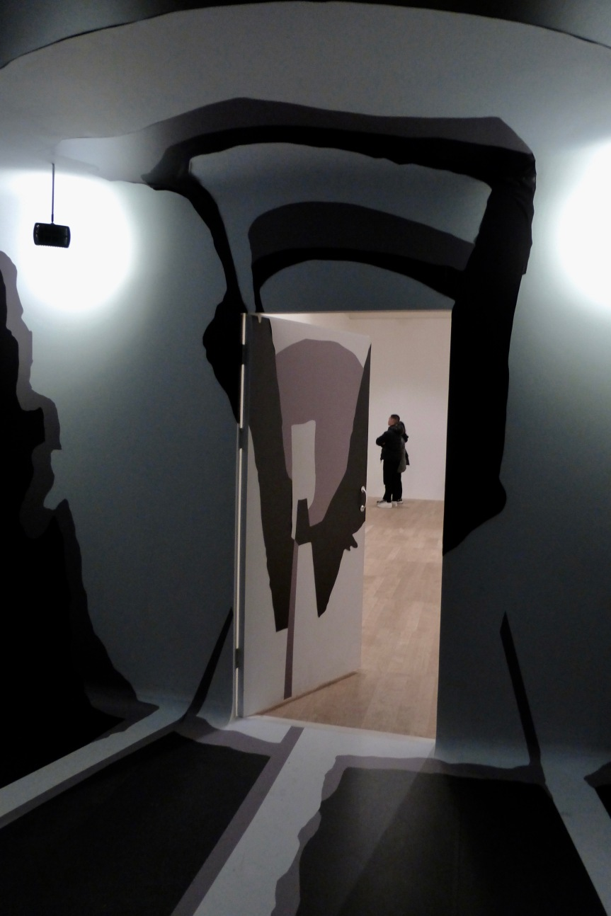 "Photograph from inside the reconstructed room/installation piece  ""Room No 2 1984"" by Irina Nakhova. Tate Modern Museum, London"